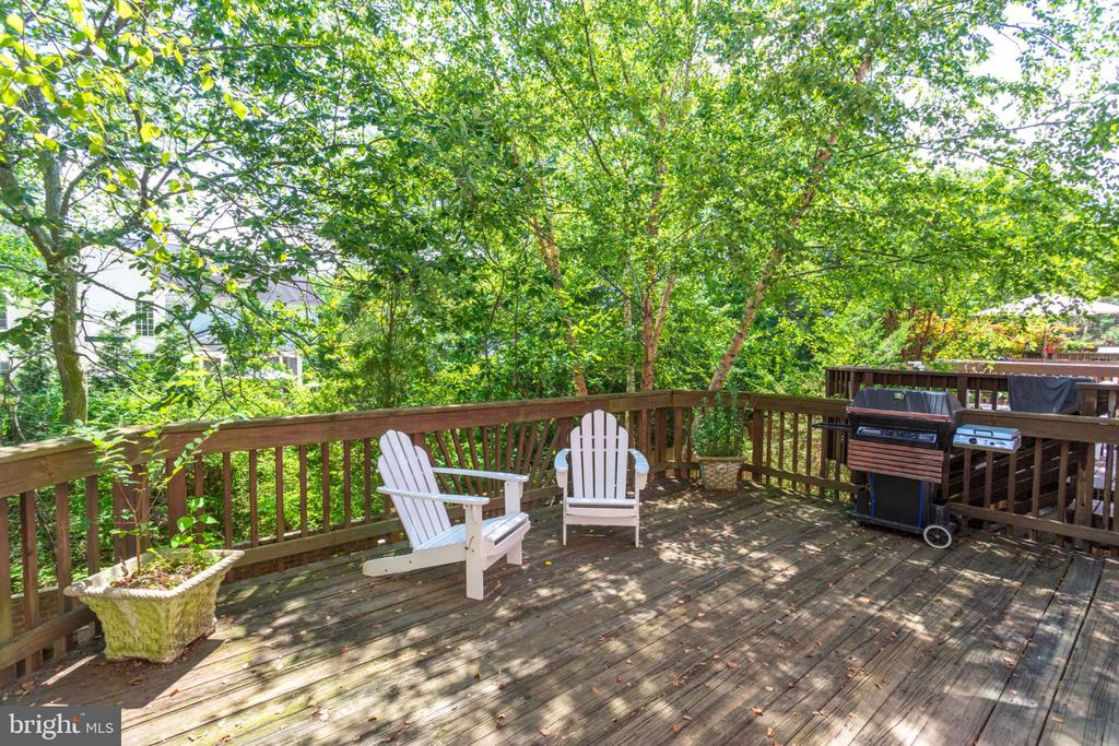 Relax & Entertain on the deck - 8178 MADRILLON CT, VIENNA