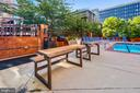 Patio and Grilling Area - 1001 N RANDOLPH ST #107, ARLINGTON