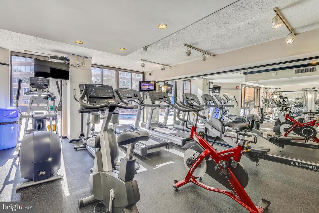 Exercise Room - 1001 N RANDOLPH ST #107, ARLINGTON