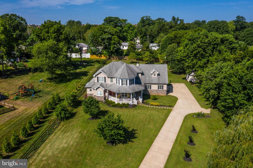 View of property from Broad Run Drive - 20193 BROAD RUN DR, STERLING