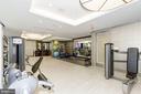 Fitness room - 4901 HAMPDEN LN #602, BETHESDA