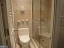 Master Bath w/ Walk in Shower & Louvered Door - 8380 GREENSBORO DR #721, MCLEAN
