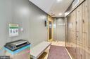 Sauna, lockers and bathing suit dryer - 8380 GREENSBORO DR #721, MCLEAN