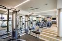 24 Hour Gym w/weights in back - 8380 GREENSBORO DR #721, MCLEAN