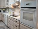 Glass Cooktop w/Exhaust Fan & Single Oven - 8380 GREENSBORO DR #721, MCLEAN