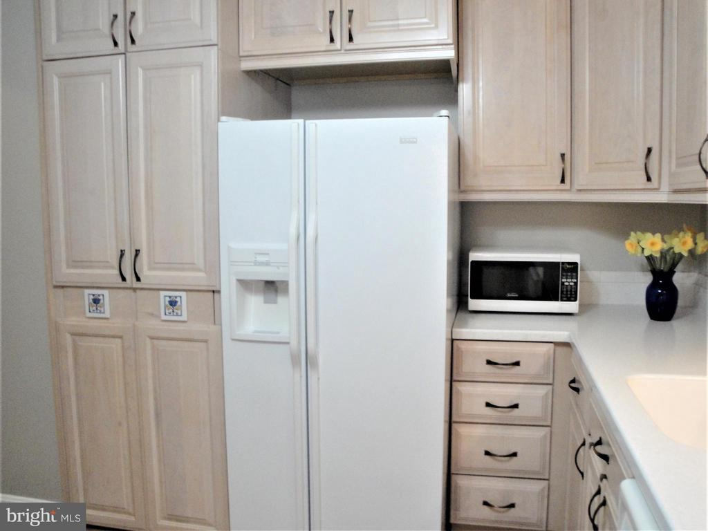 Hidden Washer Dryer next to Refrigerator - 8380 GREENSBORO DR #721, MCLEAN