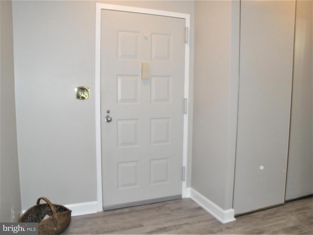 Entry Foyer & Coat Closet to its Right - 8380 GREENSBORO DR #721, MCLEAN