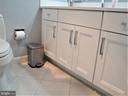 Tiled Floor / 2nd Bath - 8380 GREENSBORO DR #721, MCLEAN