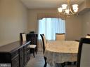 Facing Dining Room from Kitchen - 8380 GREENSBORO DR #721, MCLEAN