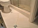 Master Bathroom's Tiled Floor - 8380 GREENSBORO DR #721, MCLEAN