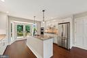 Newly renovated kitchen - 15012 CLOVER HILL RD, WATERFORD