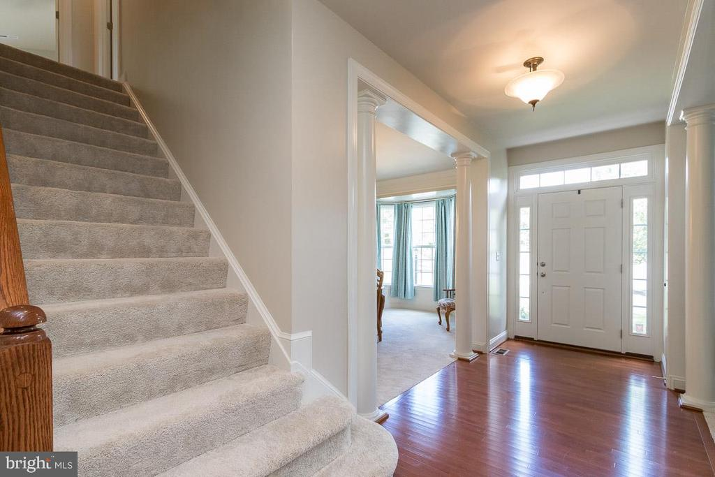 Looking to Foyer and Front Door - 8637 CHANGING LEAF TER, BRISTOW