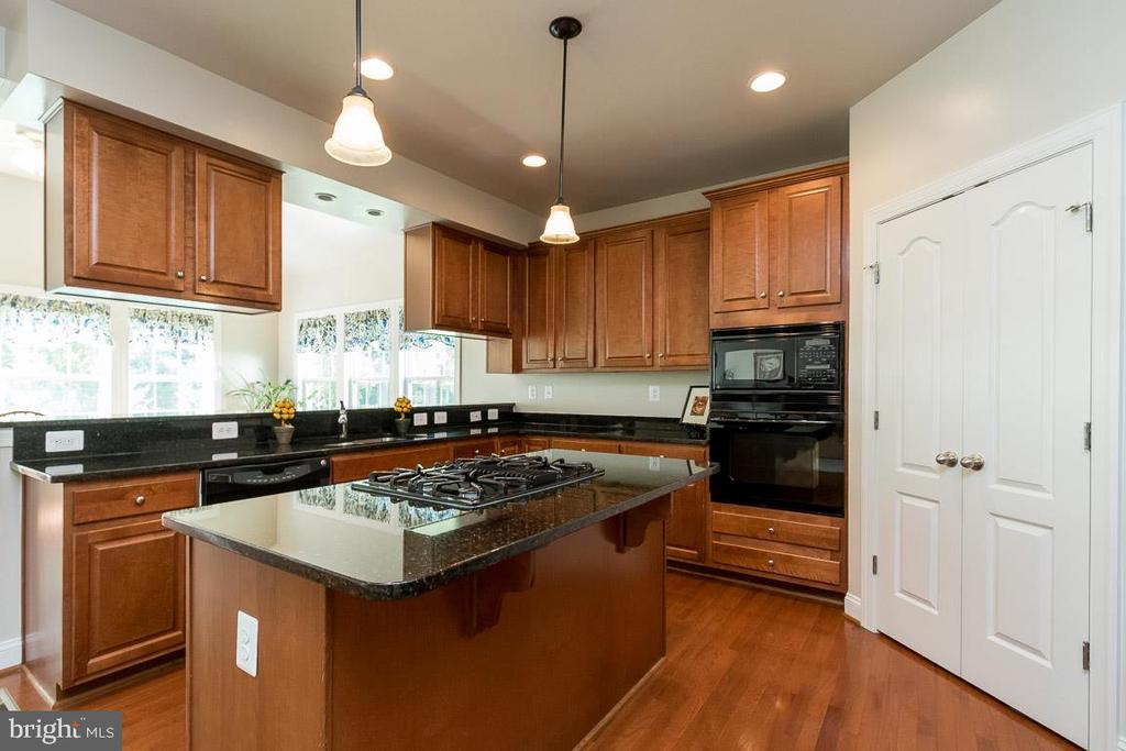 Kitchen w/ Spacious Double-Doored Walk-In Pantry - 8637 CHANGING LEAF TER, BRISTOW