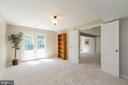 Basement Bonus Room/Den with Rough-In Plumbing - 8637 CHANGING LEAF TER, BRISTOW