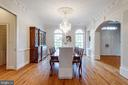 Dining Room - 7787 GLENHAVEN CT, MCLEAN