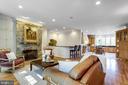 Family Room - 7787 GLENHAVEN CT, MCLEAN