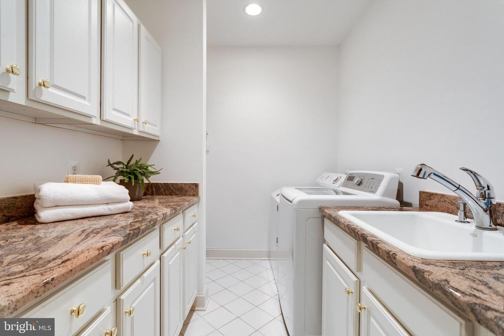 One of Two Laundry Spaces - 7787 GLENHAVEN CT, MCLEAN