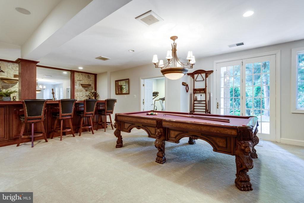 Billard Area - 7787 GLENHAVEN CT, MCLEAN