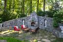 Custom designed fireplace - 7787 GLENHAVEN CT, MCLEAN