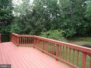 deck view - 13426 CAVALIER WOODS DR, CLIFTON