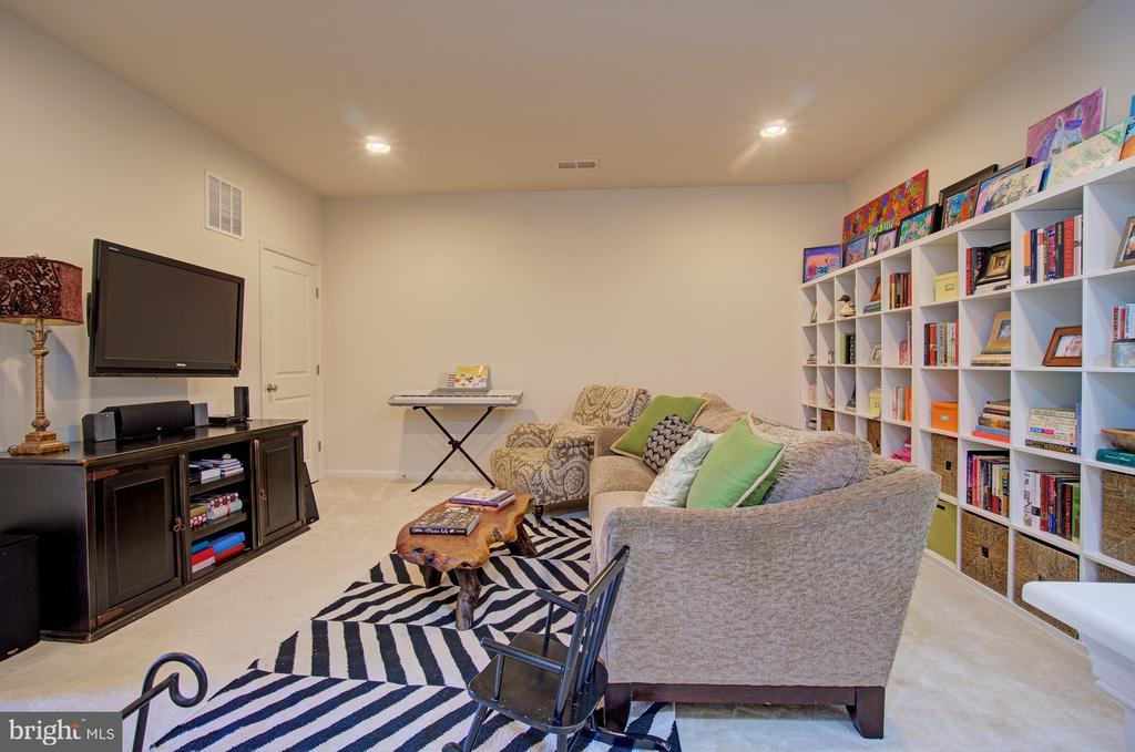Check out the Media Space! - 42245 BLISS TER, BRAMBLETON