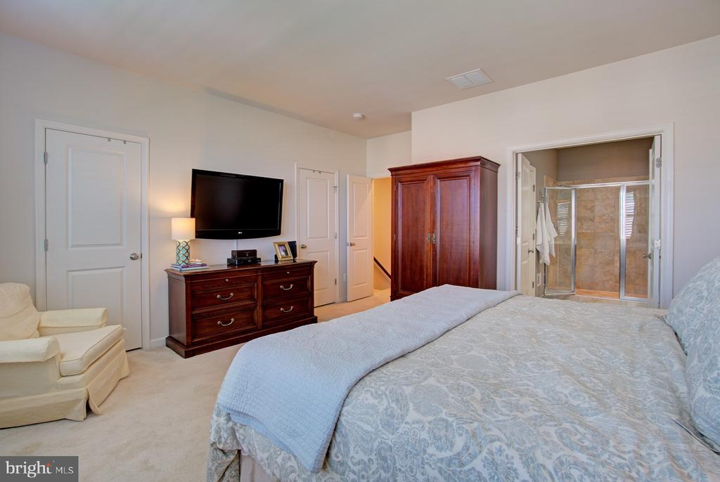 Master Suite has TWO Walk-in Closets - 42245 BLISS TER, BRAMBLETON