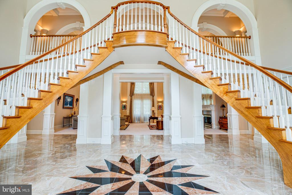 GRAND MARBLE FLOOR ENTRY - 11510 BALDY EWELL WAY, SPOTSYLVANIA