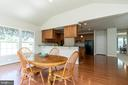 Sunroom/Morning Room Opens to Gourmet Kitchen - 8637 CHANGING LEAF TER, BRISTOW