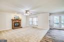 Family Room opens to Kitchen - 8 JONQUIL PL, STAFFORD