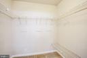 Master Walk-in Closet - 8 JONQUIL PL, STAFFORD