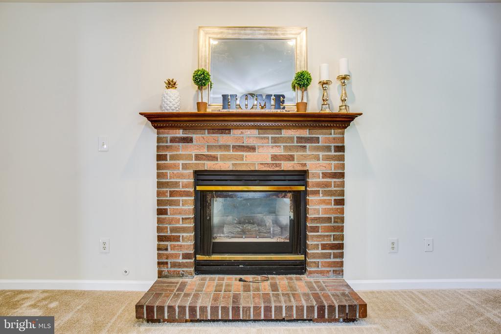 Gas Fireplace - 8 JONQUIL PL, STAFFORD