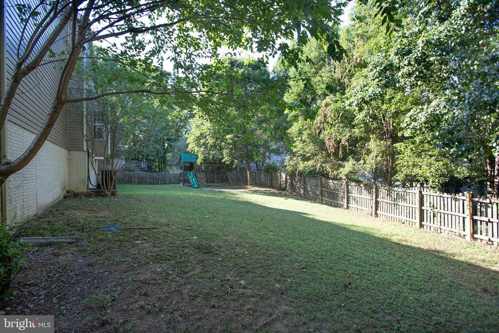 Backyard - 8 JONQUIL PL, STAFFORD