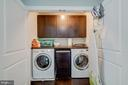 Upstairs Laundry Room is convenient - 838 HARTWOOD RD, FREDERICKSBURG