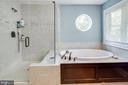 Shower and Soaking Tub - 838 HARTWOOD RD, FREDERICKSBURG