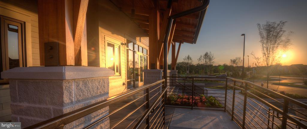 Beautiful Sunsets from the Club - 20660 EXCHANGE ST, ASHBURN