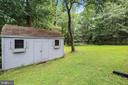 Storage Shed - 17605 SILVER DOLLAR CT, GAITHERSBURG