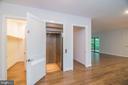 Main level has walk in coat closet, elevator to 3 - 6027 TULIP POPLAR CT, MANASSAS