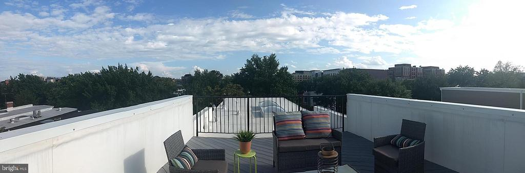 Shared Roof Top Deck Views - 410 K ST NE, WASHINGTON