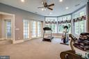 EXERCISE ROOM/ BEDROOM 6 with separate entrance - 11510 BALDY EWELL WAY, SPOTSYLVANIA