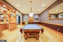BILLIARD ROOM - 11510 BALDY EWELL WAY, SPOTSYLVANIA