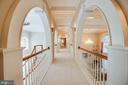 LONG ARCHED HALLWAY - 11510 BALDY EWELL WAY, SPOTSYLVANIA