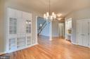Custom Built in hutch - 862 CENTRILLION DR, MCLEAN