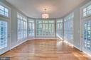 Sunroom with french doors - 862 CENTRILLION DR, MCLEAN