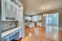 Built in work area in kitchen - 862 CENTRILLION DR, MCLEAN