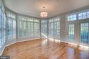 Sunroom off kitchen - 862 CENTRILLION DR, MCLEAN