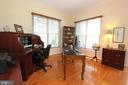 Main level office with hardwood floors - 4303 SARATOGA SPRINGS CT, MIDDLETOWN