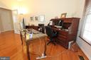 Office overlooks the woods in the back - 4303 SARATOGA SPRINGS CT, MIDDLETOWN
