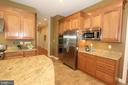 SS refrigerator, double oven & built-in microwave - 4303 SARATOGA SPRINGS CT, MIDDLETOWN