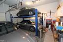 Incredible garage - 4303 SARATOGA SPRINGS CT, MIDDLETOWN