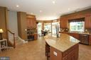 Ceramic floors and upgraded glazed-maple cabinets - 4303 SARATOGA SPRINGS CT, MIDDLETOWN